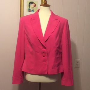 Travis Ayers Button Down Jacket Size 12 Pink